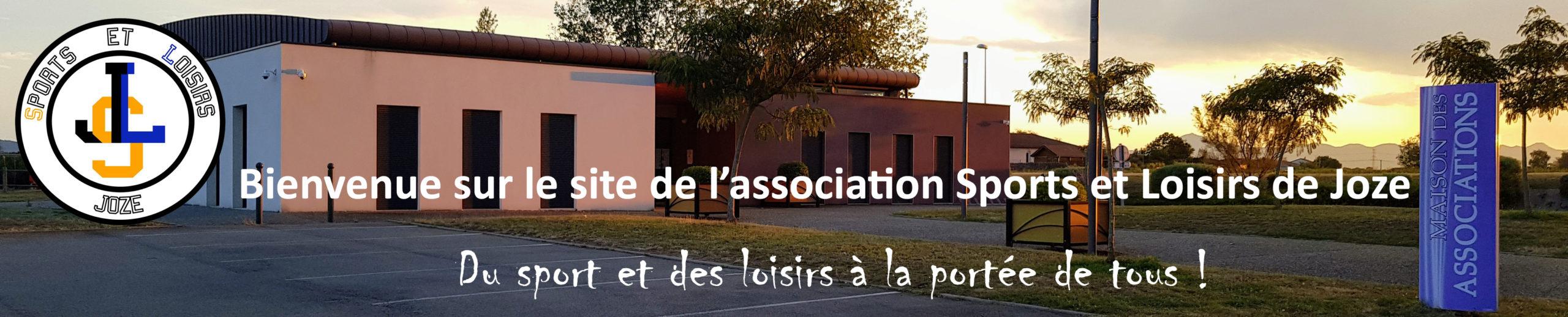 Bienvenue sur le site de l'association Sports et Loisirs de Joze